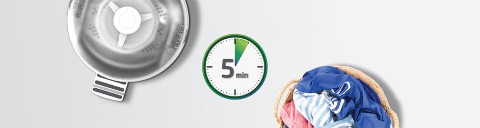 Le low-tech à la mode : faire son linge en 5min avec Drumi !