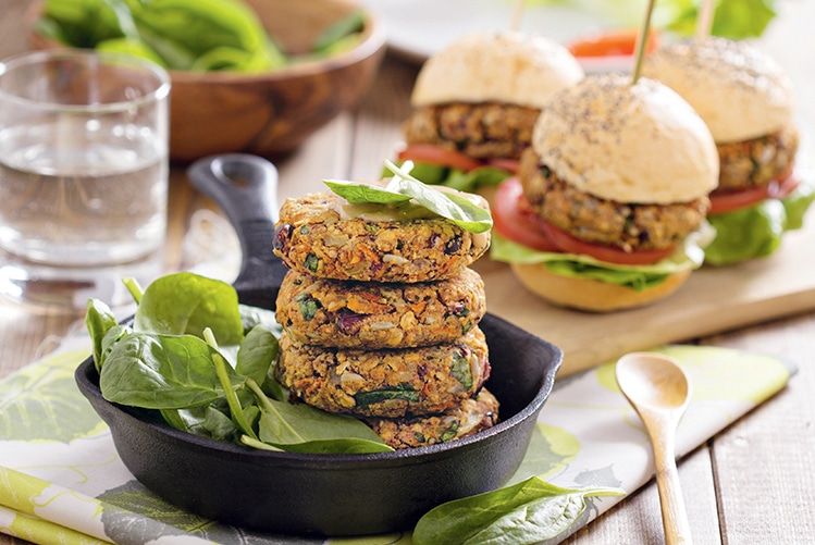Burger veggie (sans viande)